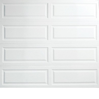 Raised Panel garage door in raleigh