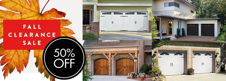garage door and opener sales